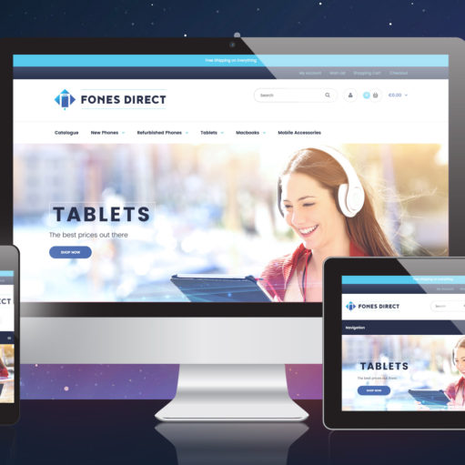 Fones Direct Shopify Store Showcase